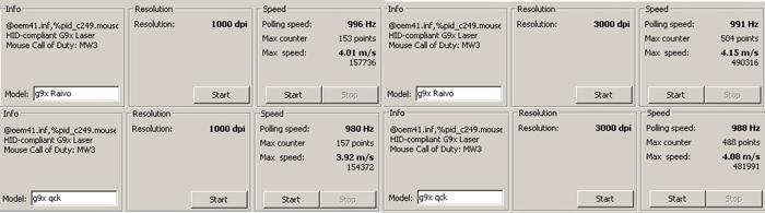 g9x speed